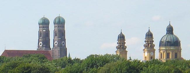 Famous steeples of Munich (Maier-Stadtherr)