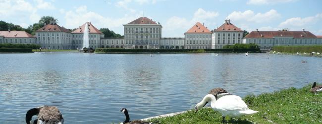 parken schloss nymphenburg