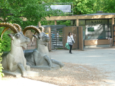 Zoo: Isar entrance